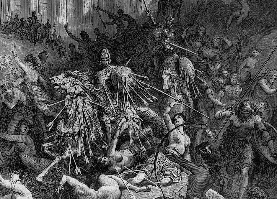 Battaglie cavalleresche. Letture, musica, danza ed azioni sceniche sul testo del Furioso